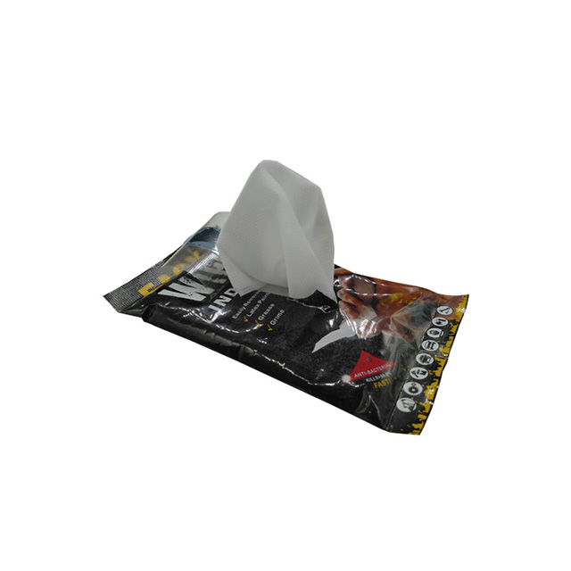 OEM Heavy Duty Cleaning Industrial Wet Wipes with Small Pack