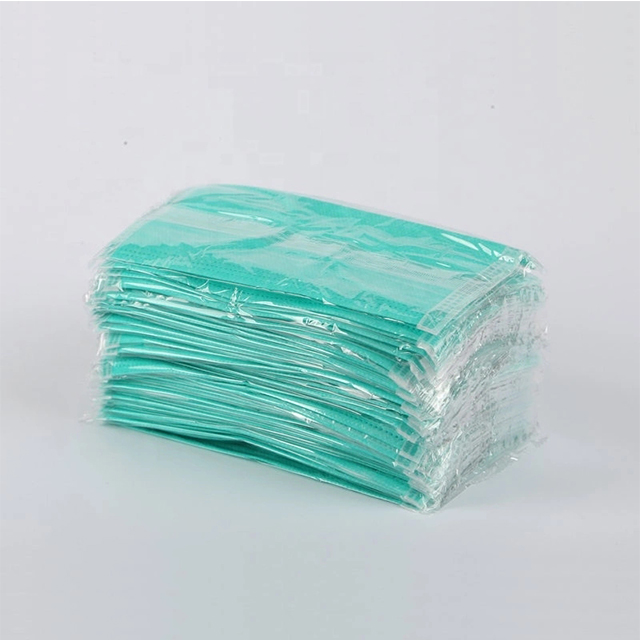Disposable 3 Ply Non Woven Anti Virus Dust Medical Face Mask