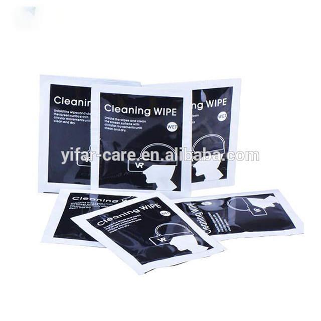 OEM Lens cleaning wet wipes
