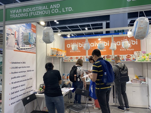 Thanks a lot for attending our booth in Hongkong exhibition